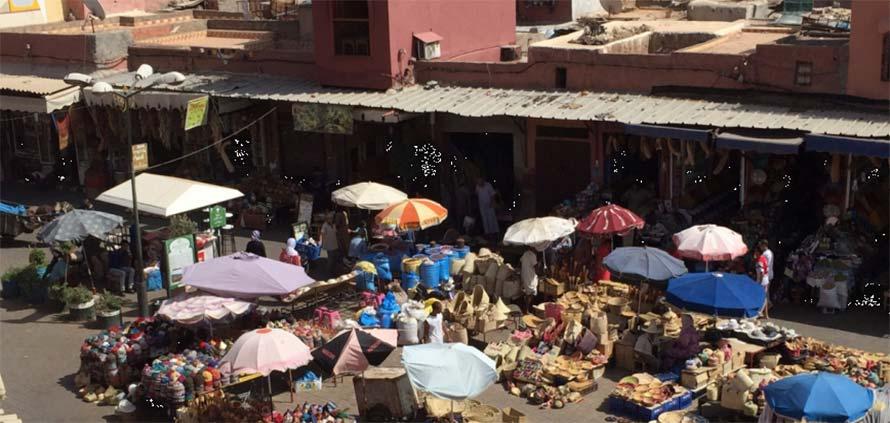 Rhaba Kadima la piazza dei Maghi di Marrakech