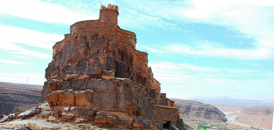 Granaio fortificato di Amtoudi Marocco