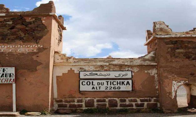 Il Passo del Tizi n Tichka Marocco