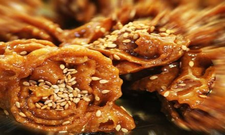 Chebakia biscotti al miele e sesamo
