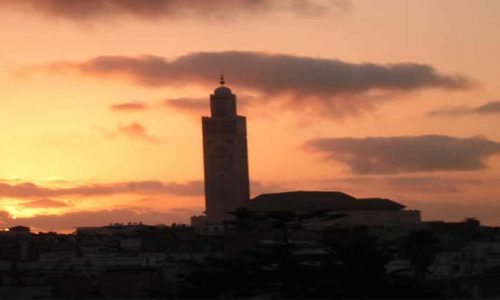 La Moschea Hassan II by Rosa P.