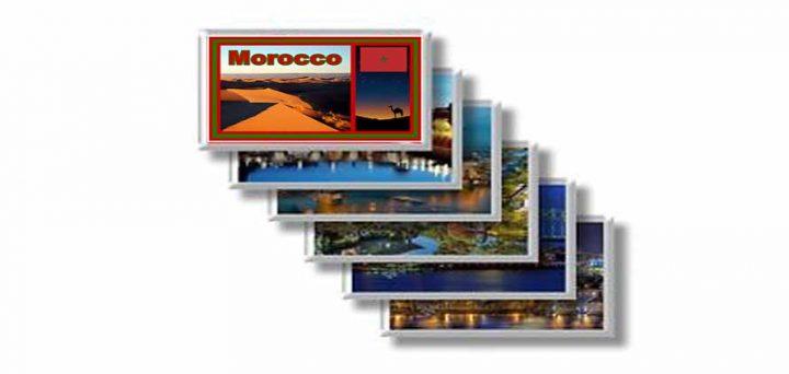 Souvenir Le calamite di Marrakech