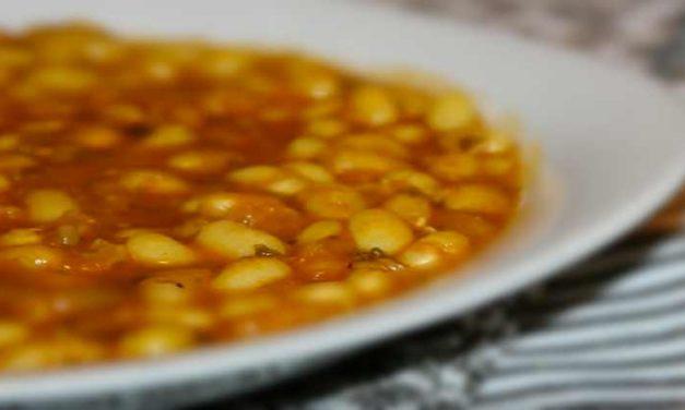 Loubia zuppa di fagioli alla marocaine