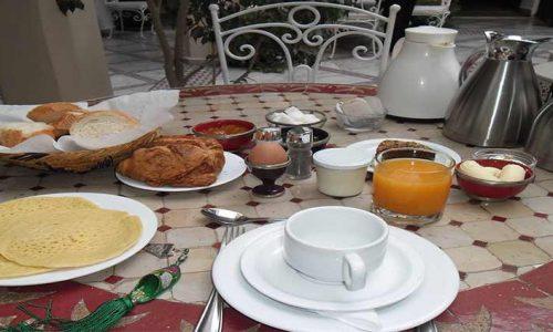 La colazione in Marocco