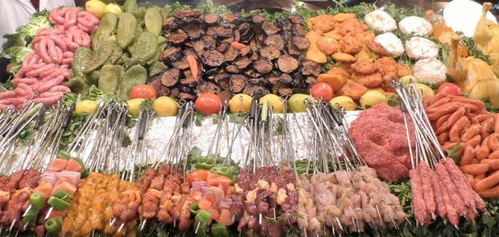 Marrakech capitale dello street food