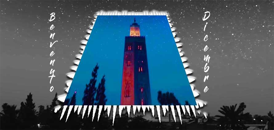 Dicembre a Marrakech