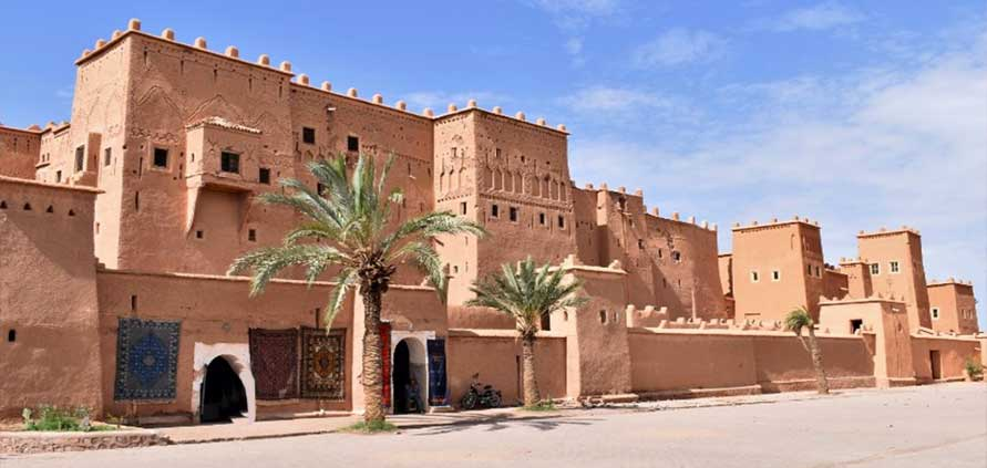 Kasbah di Taourirt Marocco