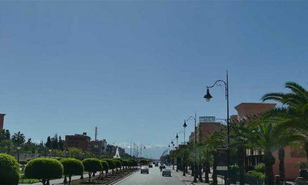 Marrakech la via più bella della città