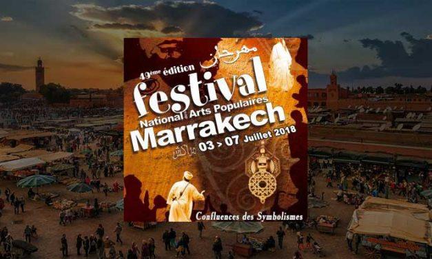 Festival delle arti popolari Marrakech