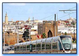 Tram capitale marocco