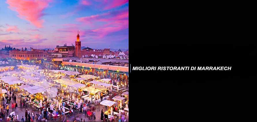 I migliori 5 Ristoranti a Marrakech