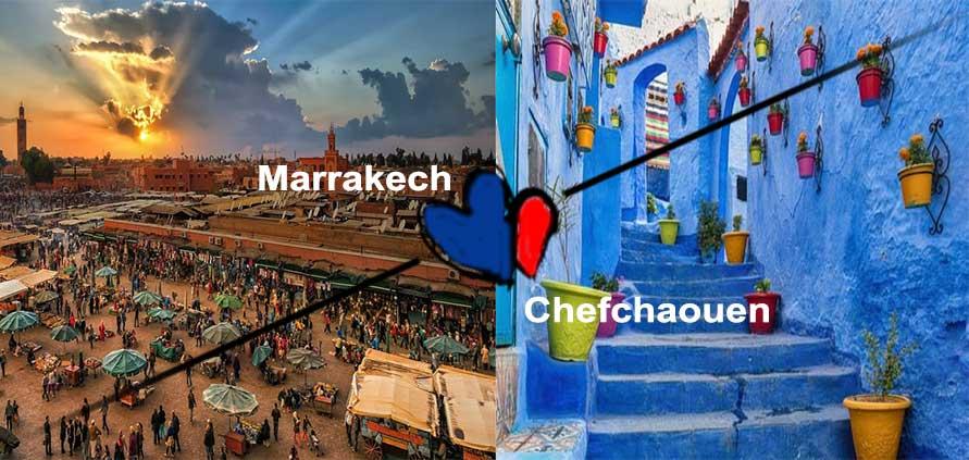 Come arrivare da Marrakech a Chefchaouen