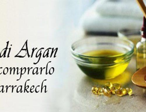 Dove comprare olio di Argan a Marrakech
