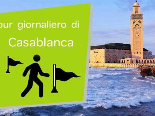 Tour giornaliero di Casablanca