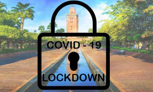 Lockdown in Marocco