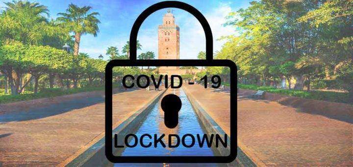Lockdown in Marocco